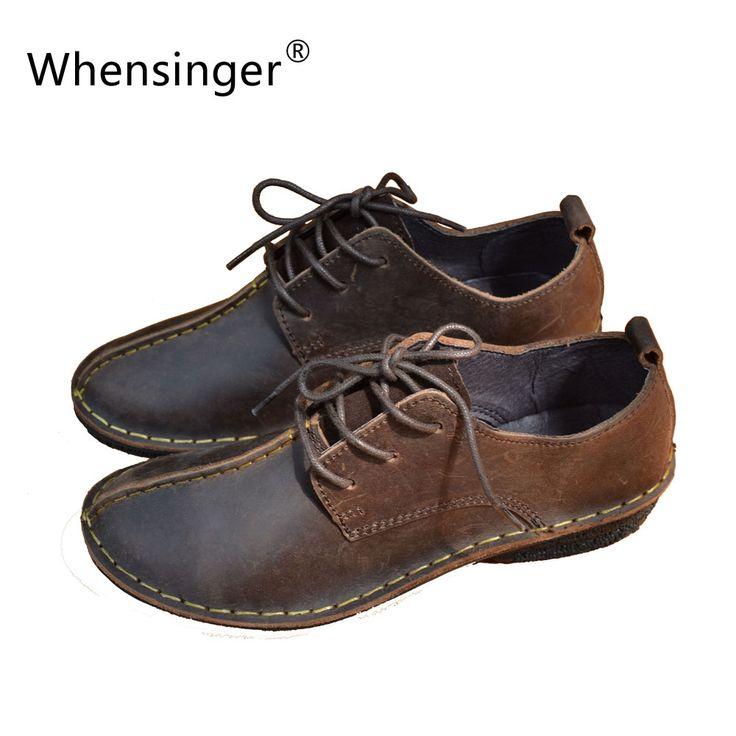 Купить товарWhensinger 2016 Женщин Зима Весна Обувь на Шнуровке…