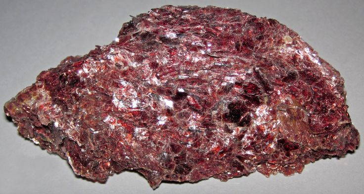 Red muscovite mica (North Bay area, Ontario, Canada) (James St. John) Tags: red lake ontario canada bay north minerals mineral mica nipissing silicate silicates muscovite phyllosilicate phyllosilicates