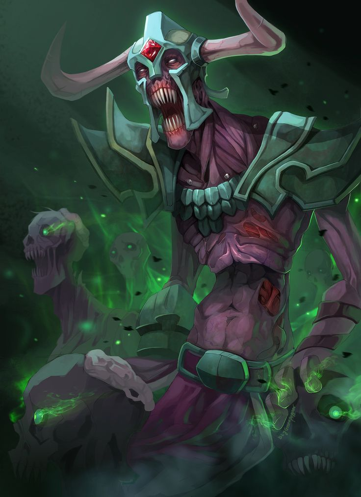 Dota2 Undying tombstone by biggreenpepper.deviantart.com on @deviantART