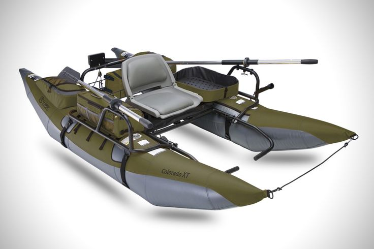 COLORADO XT INFLATABLE PONTOON BOAT. Fish won't know what hit them.