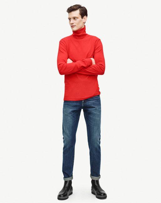 Cotton Wool Rib Rollerneck - News - Shop Man - Filippa K