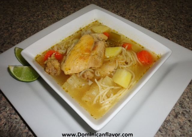 Dominican Chicken Soup