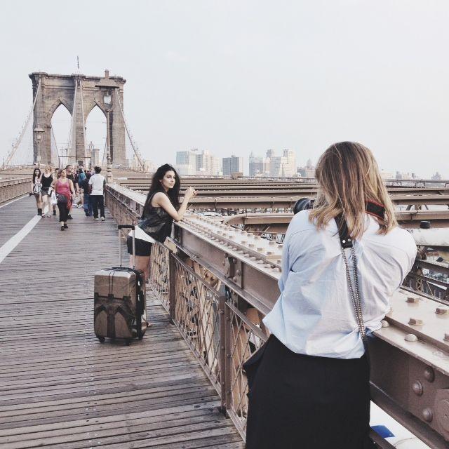 İkonik köprü, ikonik valiz:)