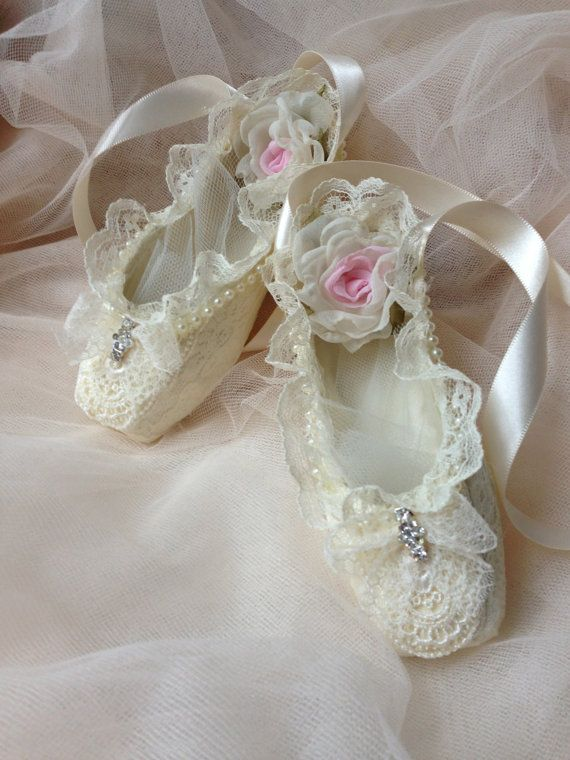 Paper mache ballet shoes home decor girl room decor for Ballet shoes decoration