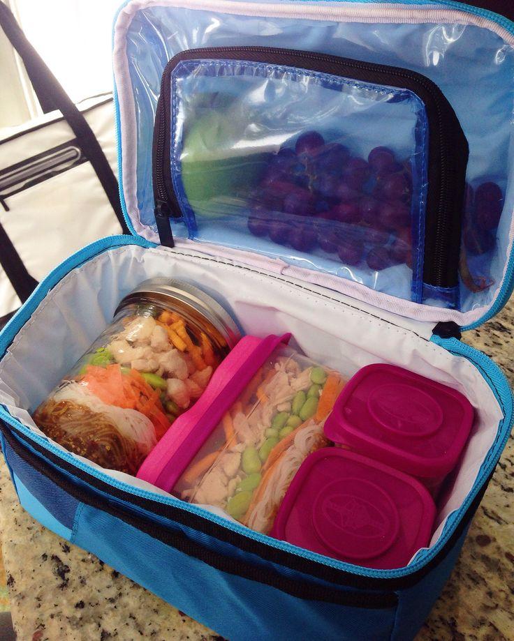 Arctic Zone Blue Urban Secret Bucket Lunch Bag with Interlockers!