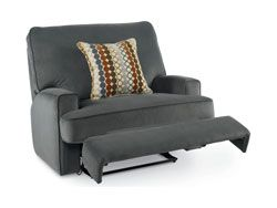 Snuggler Recliner. I might need this for my small Den.