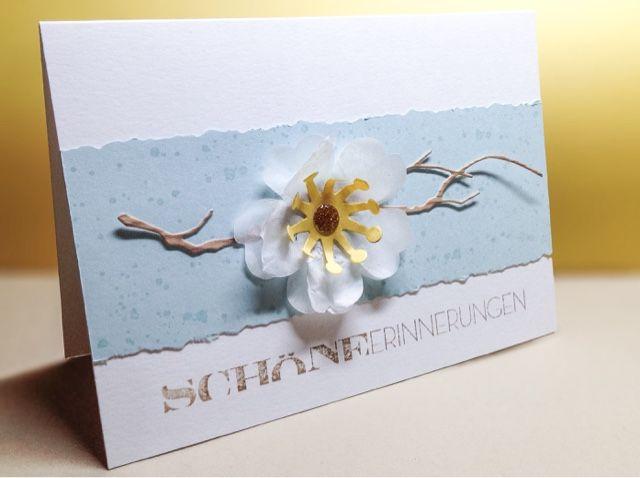 Card Creations by Ellis van Veenendaal: Blumiges Kärtchen...