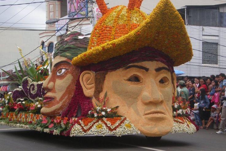 Tomohon International Flower Festival 2014: Pawai Kendaraan Hias di Sulawesi Utara