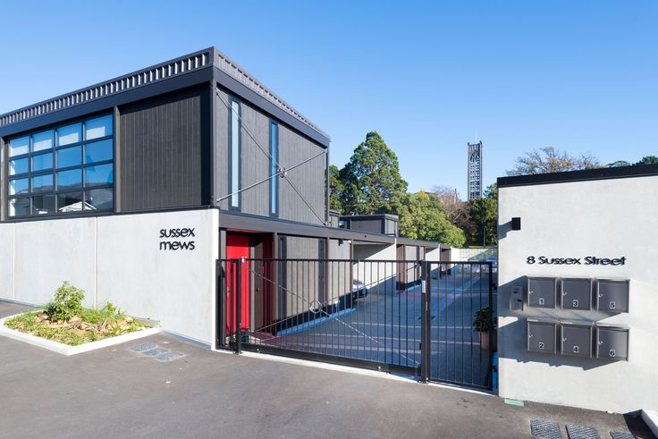 Box Living | APARTMENT | SUSSEX - Six unit residential block - Nelson