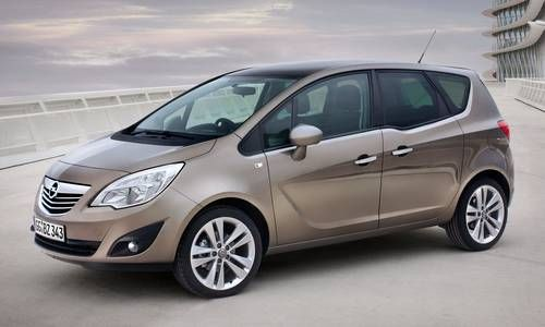 #Opel #Meriva.  El monovolumen familiar que es la unión perfecta entre espacio y flexibilidad.