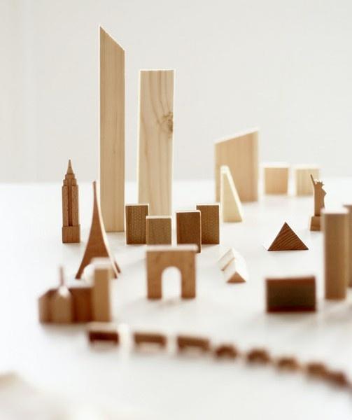 muji.: Wooden Cities, Kids Stuff, Lugnast Vatten, Wooden Toys, Baby Toys, Woods Blocks, Wooden Blocks, De Lugnast, Kids Toys