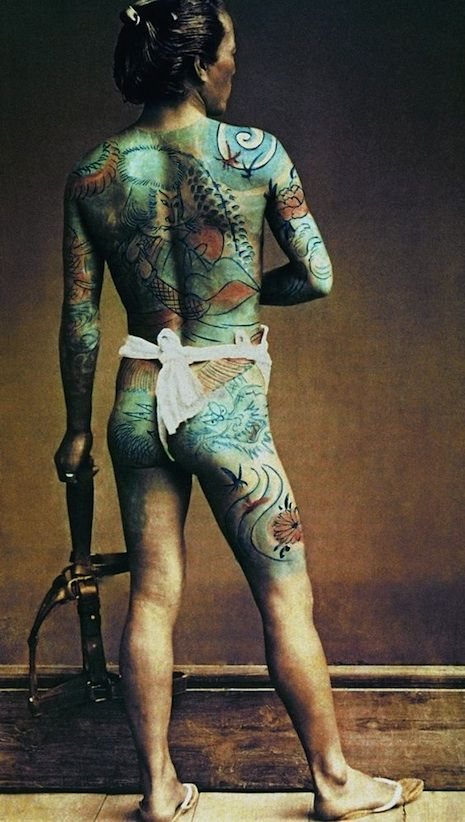 619 best images about tat 39 s on pinterest tattooed girls for Female yakuza tattoo