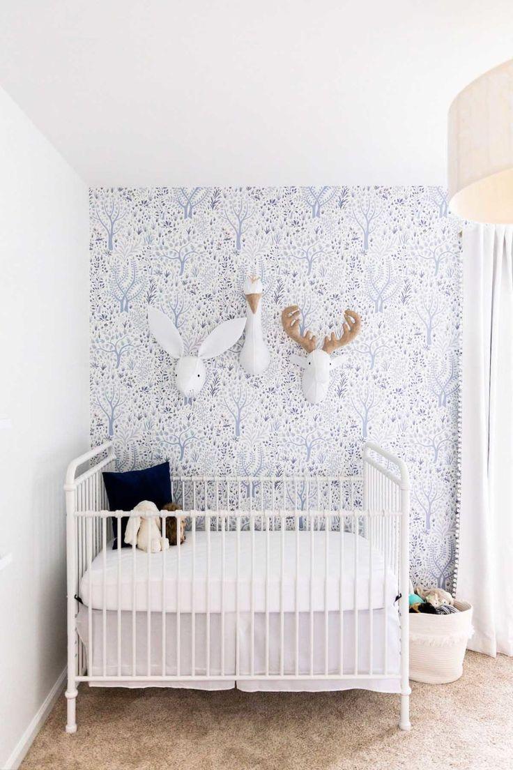 Oh Monday Winter Daisy Melissa Barling Kids Interior Decorator Lifestyle Blogger Removable Wallpaper Nursery Tree Removable Wallpaper Nursery Wallpaper