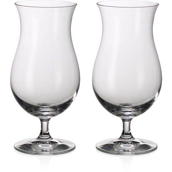 Villeroy & Boch Purismo Bar Tropical Cocktail Glass, Set of 2 (£31) ❤ liked on Polyvore featuring home, kitchen & dining, drinkware, clear, crystal glassware, crystal cocktail glasses, crystal drinkware and villeroy boch glassware