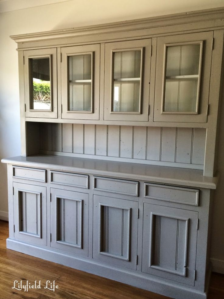 painting pine furniture hand painted pine hutch by lilyfield life more