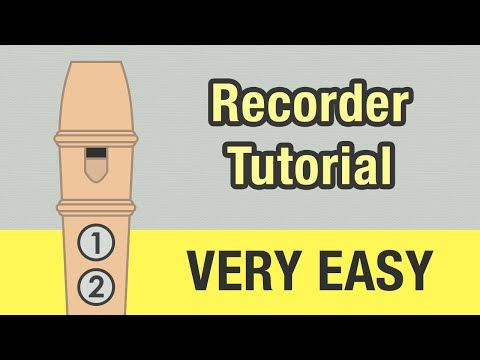 Twinkle Twinkle Little Star - Recorder Tutorial (C Major) - YouTube