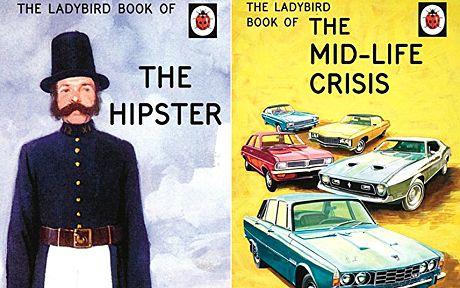 Ladybird Books a trattare con postumi di una sbornia e crisi di mezza età