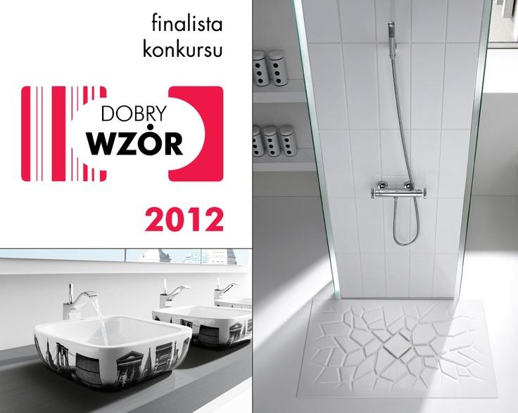 W 2012 roku konkurs Dobry Wzór, organizowany przez Instytut Wzornictwa Przesyłowego, przyniósł marce ROCA Polska wiele sukcesów! Produkty: brodzik Kreto oraz bateria umywalkowa Urban znalazły się w gronie najwyższej jakości wyrobów, dostępnych na polskim rynku.