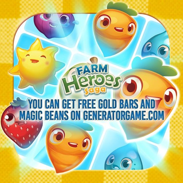 [NEW] FARM HEROES SAGA ONLINE HACK GENERATOR 2015: www.farmheroessaga.tk  Add up to 999999 amount of Gold Bars and Magic Beans each day: www.farmheroessaga.tk  Trust Me guys This Method 100% Really Works: www.farmheroessaga.tk  Please SHARE this hack method guys: www.farmheroessaga.tk  HOW TO USE :  1. Go to >>> www.farmheroessaga.tk  2. Type your Farm Heroes Saga Username/ID or Email Address (You don't need to type your password)  3. Enter required amount of Gold Bars and Magic Beans then…