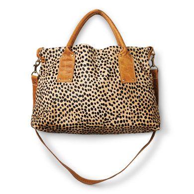 wild thing cheetah bag