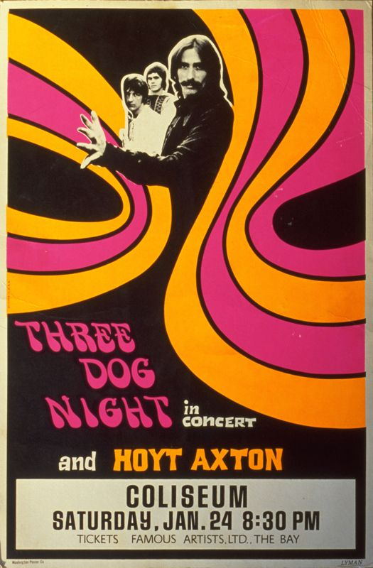 three dog night gig posters - Google Search