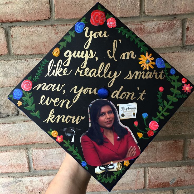 The Office - Kelly Kapoor graduation cap