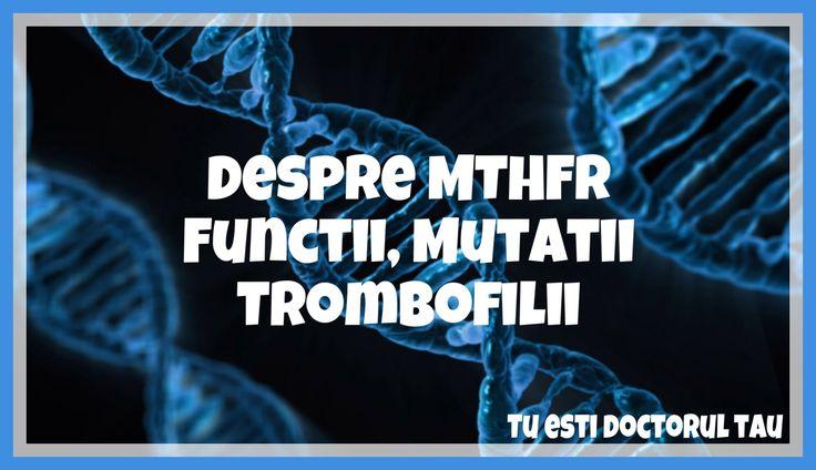 Despre MTHFR, functii, mutatii, trombofilii