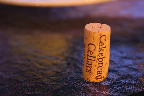 Cakebread wine. Delicious. - Went to their Winery - the best!