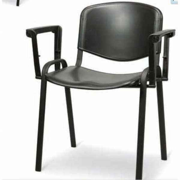 Giove 2 Chaise De Bureau Avec Accoudoirs Empilables Metal Polypropylene Salle D Attente Salle De Reunion D Hotel Nel 2020