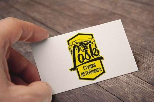 Логотип для студии детейлинга LOSK