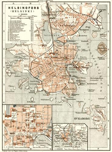 Helsinki old map