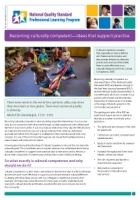 Newsletter 65: Becoming culturally competent—Ideas that support practice