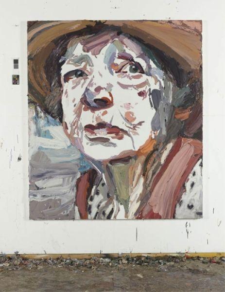 """Ben Quilty """"Margaret Olley"""" 2011 oil on linen 170 x 150 cm"""