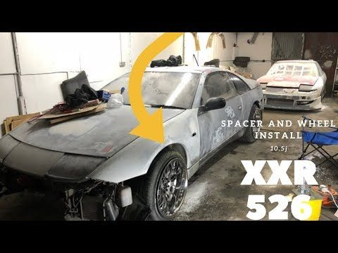 Nissan 300zx - XXR 526 10 5j all around and H&R spacers finally