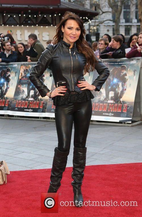 Lizzie Cundy  Iron Man 3 Premiere