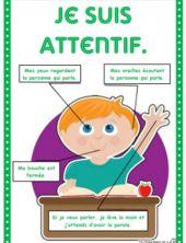 """Affichages """"technique"""", être attentif, comportement"""