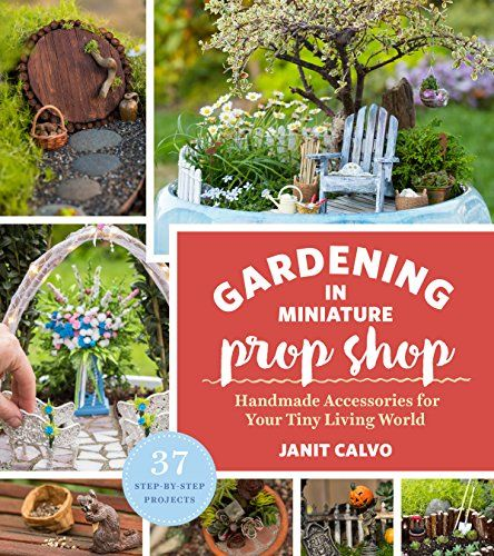 The Gardening in Miniature Prop Shop: Handmade Accessories for Your Tiny Living World Kindle Edition by Janit Calvo