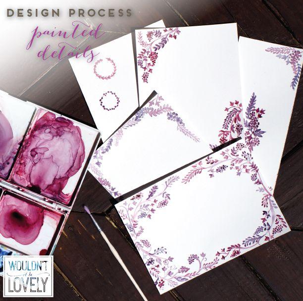 19 best ginger charles wedding images on pinterest wedding custom wedding invitation design process pic stopboris Gallery
