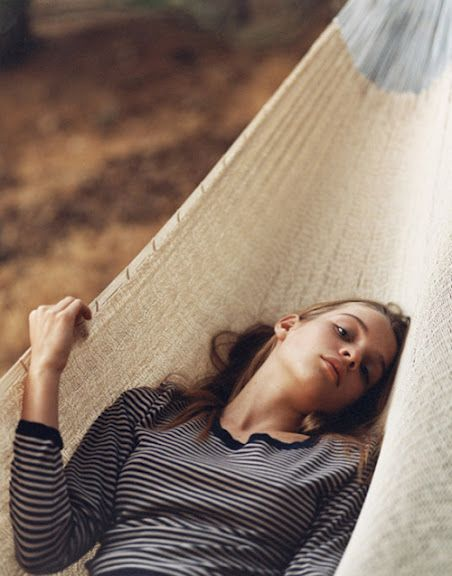 Très Bon GoûtPhotos, Sarah Maingot, Hammocks, Beautiful, Stripes Shirts, Fashion Photography, Fashionphotography Inspiration, Relaxing, Kim Noorda