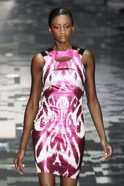 ... Ikat... Gucci - Milan Spring 2012