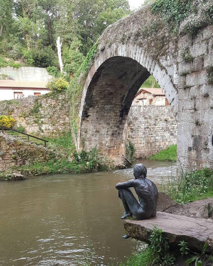 """""""El hombre Pez"""" Liérganes  #lierganes #elhombrepez #cantabriasan #cantabria #turismo #cantabriayturismo #cantabria_y_turismo #cantabriainfinita #cantabros #estaes_cantabria #cantabriaverde #cantabriarural #igerscantabria #paseucos #paseúcos #cantabriamola #igercantabria #igcantabria #fotocantabria #follow #picoftheday #instapic #fotodeldia #pasionporcantabria #latierruca #lamontaña Esta imagen tiene copyright"""