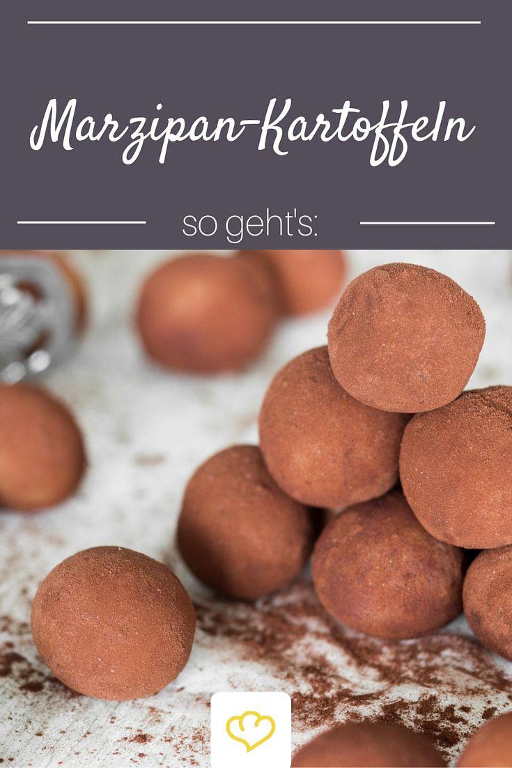 Wie man Marzipankartoffeln selber macht? Hier ist alles Schritt für Schritt erklärt! Übrigens auch ein tolles Weihnachtsgeschenk aus der eigenen Küche!