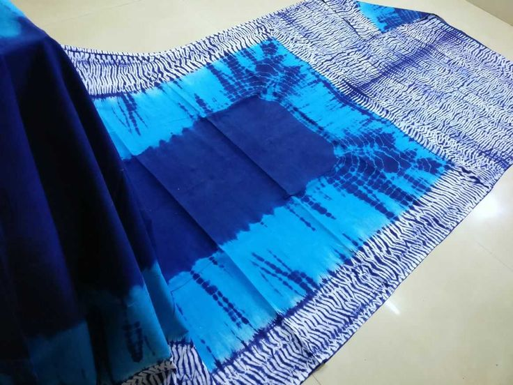 Exclusive cotton block printed sarees