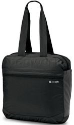 Pacsafe Pouchsafe PX25 Anti-Theft Packable Tote Bag Charcoal 10905