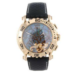 LOT:78 | CHOPARD - a gentleman's 18ct rose gold Happy Sport chronograph wrist watch.