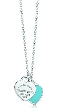 tiffany necklace that my beau bought me for my bday