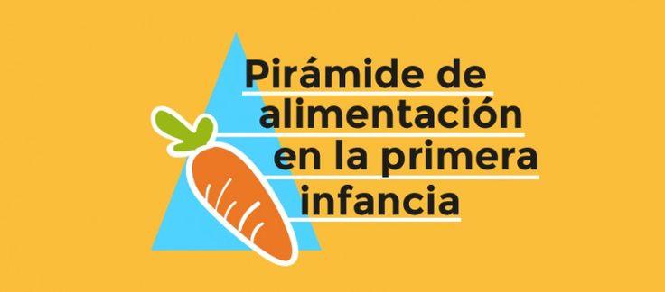Pirámide saludable de la alimentación en la primera infancia | El club de las madres felices
