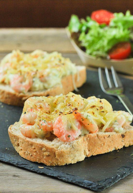 Receta 49: Pan de molde con gambas y bechamel » 1080 Fotos de cocina