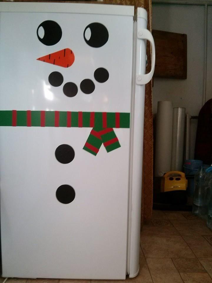 white christmas-snow man