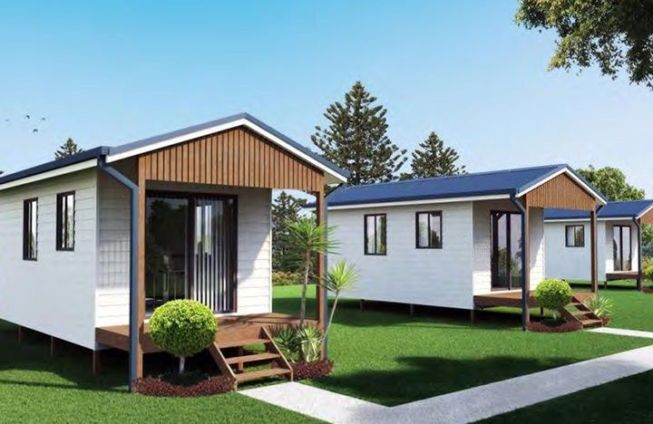 Tiny Home Designs: IBuild $25000 Kit Home. One Bedroom Tiny House. Oakdale